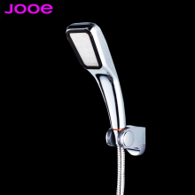 JOOE 30% Water Saving 300% Pressure Boost shower head Chuveiro 300 Holes Quality ABS chrome hand hold Bathroom Shower Head