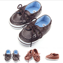 Soft Baby Shoes Newborn Boy Girl Crib Shoes Toddler Lace Up Loafer Pre Walker Shoes Sport Baby Sneakers Shoes