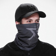 A Set of Cool Watch Dogs 2 Mask Cap Adien Pearce Watch Dogs Face Mask Halloween Mask of Game Hero Cosplay for Men Christmas Gift