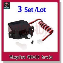 PKR 2,267.28 | 3Set V950 Original Servo V950-014 for WLtoys V950 6CH RC Helicopter Spare Parts