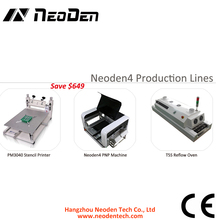 Neoden4 benchtop pick and place production lines, desktop machine for surface mounting, PCB assembly production lines