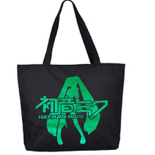 Bags wholesale market new canvas bag lady shopping bag Korean cartoon Canvas Shoulder Handbag