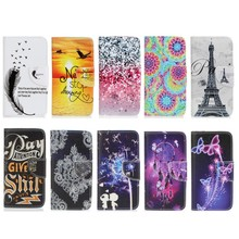 For Coque LG K7 X210 X210DS K 7 Cases Wallet Cover Soft Shell Phone Case Capinha Etui Fundas Color Dreaming Butterfly Feather