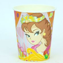 50 pcs/lot of Miya princess theme printing paper cup tableware for birthday party , party drinking cup(China)