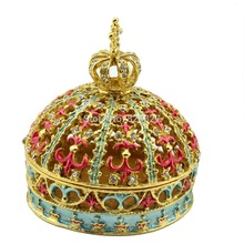 buy 2014 newest sparking princess jewelry keepsake in tiara crown shaped gift box online