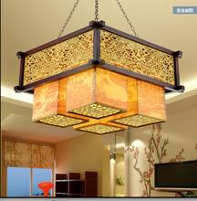 Chinese Style Ceiling Pendant Living Room Antique Hotel Restaurant Work Light New Chinese Restaurant Square CL(China)