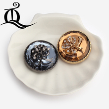 1 pcs,38mm mix fashion fur buttons coat,brand button,Rhinestone Fur buttons. big with a diamond buckle,acrylic metal buttons