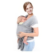 Best Selling Elastic Cotton Newborn Two Shoulders Backpacks Solid Color Baby Carrier Wrap Canguru Baby Sling Kangaroo For Babies