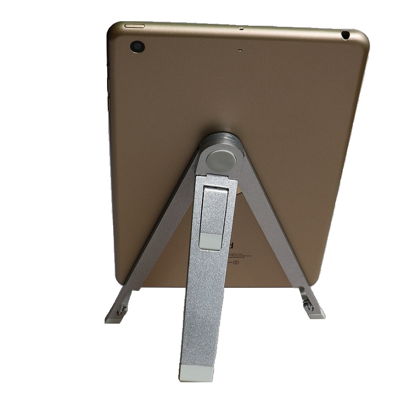 "7 8 9 10 inch tablet holder Aluminum alloy tripod tablet PC stand holder suitable for 9.7"" ipad pro ipad Air 2 ipad mini 4(China (Mainland))"