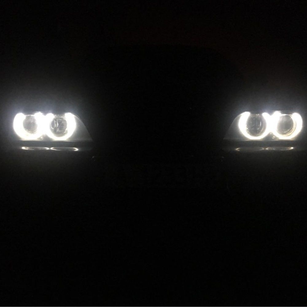 2pcs/set 20W LED Angel Eyes Marker Light Bulb for BMW E61 E53 E63 E64 E65 E66 E87