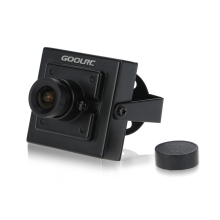 "GoolRC Mini HD 700TVL 1/3"" 3.6mm Lens CCTV Security Video FPV Color Camera NTSC System"