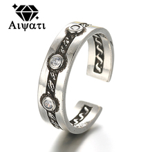 Occident Fashion Silver Rings 925 Thailand Silver Jewelry for Women