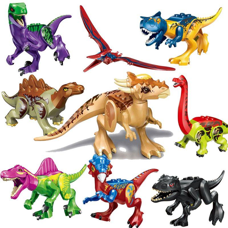 Legoing Jurassic World Styx Dragon Dinosaurs Tyrannosaurus Rex Building Blocks Animals Figures Legoings Jurassics Park Kids Toys