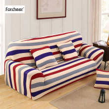 Striped Spandex Stretch Sofa cover Big Elasticity 100% Polyester Couch cover Loveseat Tightly Wrap Sofa Slipcover 1/2/3/4-Seater