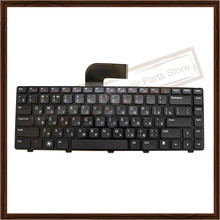 Russian RU Keyboard For Dell N4110 M4050 M4040 RU Russian Keyboard Replacment Without Backlight