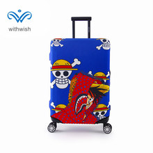 "Personalise Anime Luggages Trolley Case Protective Cover Fit 18""~32"" Travel Case Perfectly Stretchable Suitcase Protective Cover"