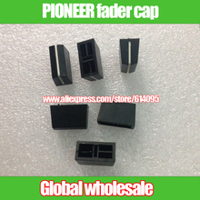 10pcs mixer fader knob for PIONEER fader cap knob straight slide potentiometer fader hole 4mm for PROFESSINOAL PARTS(China)