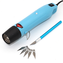 Heat Gun Hot Air Gun Clay DIY Tool 858 For Soft pottery heating Shrink films styling Rubber Stamps Plastic FIMO dinks Embossing(China)