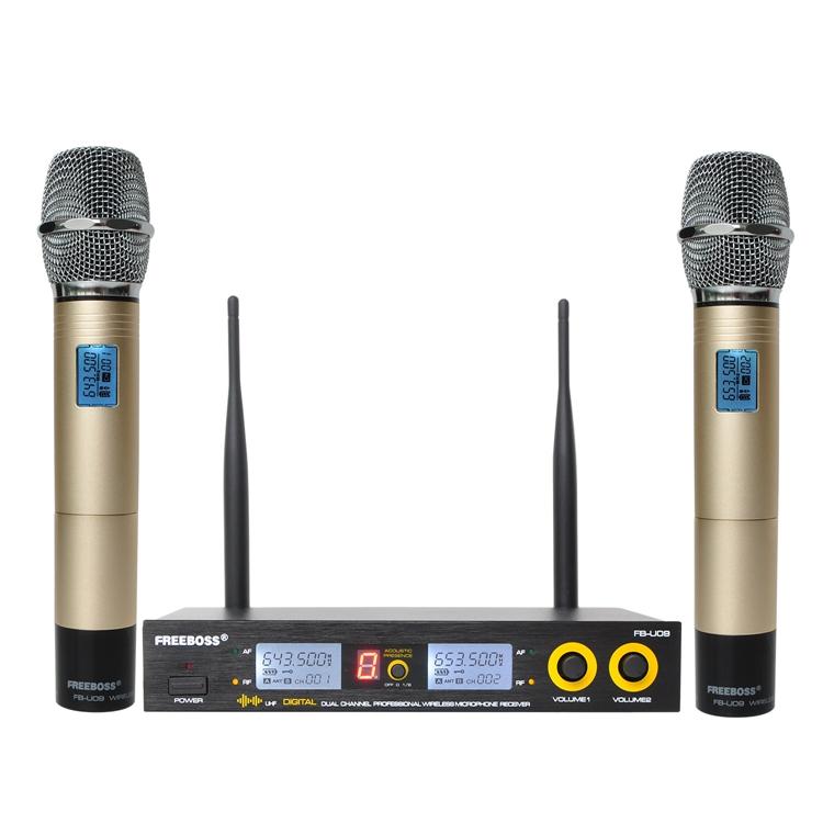 FB-U09 01 Wireless Microphones