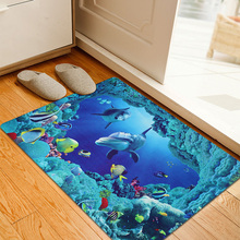 3D HD printing dust doormat floor MAT  hall kitchen bathroom floor mats non-slip mats  bedroom Carpet 50cm * 80cm