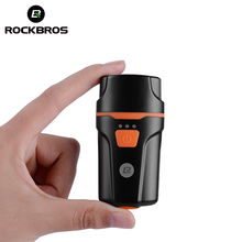 Buy ROCKBROS Cycling Bicycle Front Rechargeable Light Bike Flashlight Waterproof Headlight Bicycle Lamp Power Bank Bike Accessories for $14.78 in AliExpress store