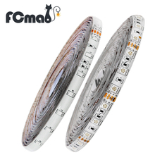 LED Strip 3528 or 5050 DC12V 60LEDs/m 5m/lot Flexible LED Light RGB LED Strip