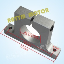43mm Euro Aluminium Neck Spindle Mount Bracket Clamp Spindle Motor Holder from RATTM MOTOR