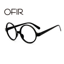 OFIR Classic Retro Round Glasses Women Frame Ala Lei Cute Glasses Frame Men Harry Potter Glasses Without Lenses A3-27(China)