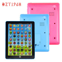1PC Child Kids Computer Tablet Chinese English Learning Study Machine Gift for Children Toy Levert Dropship Aug11