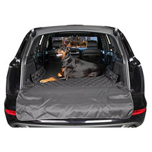 Dual-Use Soft SUV Dog Car Trunk Mat Pet Dog Car Seat Cover Pet Barrier Protect Car Floor From Spills And Pet Nail Scratches(China)