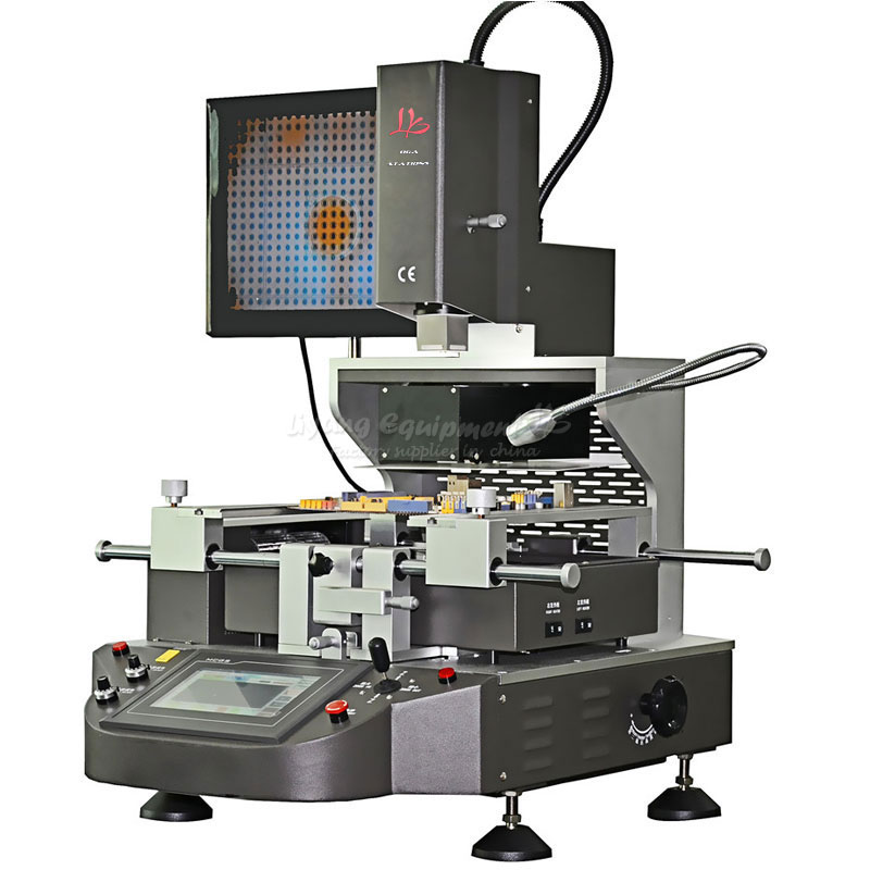 3 zones hot air optical Precision optical alignment system BGA rework station for phone reparing
