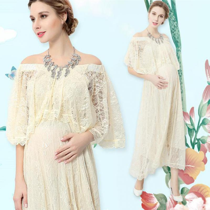 Maternity Dress Summer 2018 Fashion Pregnancy Clothes For Photo Shoot Maxi Large Pregnant Dresses Photography Clothing 5mc026<br>