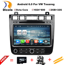 Android 6.0 4G SIM LTE Octa Core 2G RAM Car DVD GPS Radio for Volkswagen Touareg 2015-2016 With WIFI BT USB Support OBD DTV DAB+