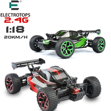 ET RC Car 1/18 Hobby 2.4G Rock Crawlers High Speed 4CH 4WD Race Car Double Motors Drive Buugy Model Off-Road Car RC Toys GS06B(China)