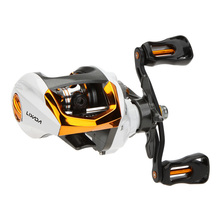 12+1BB Left/Right Hand Fly Fishing Reel G-Ratio 6.3:1 Baitcasting Carp Fishing Reel With Magnetic Brake System Carretilha Pesca