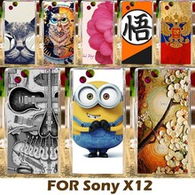 DIY Painting Plastic Case For Sony Ericsson Xperia Arc S X12 LT15i LT18i 4.2 inch Phone Cover Protective Shell Funda Carcasa