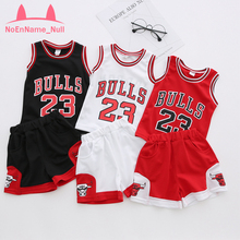 2-11Y Basketball Sets Kids Clothes Set Children Sports Suits Letter For Girls and Boys Breathable Costume For Kids Clothing Sets