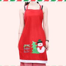 Christmas Aprons Gloves Santa Aprons Kitchen Cleaning Tool Women and Men Dinner Party Apron Kitchen Gadgets Kitchen Accessories(China)