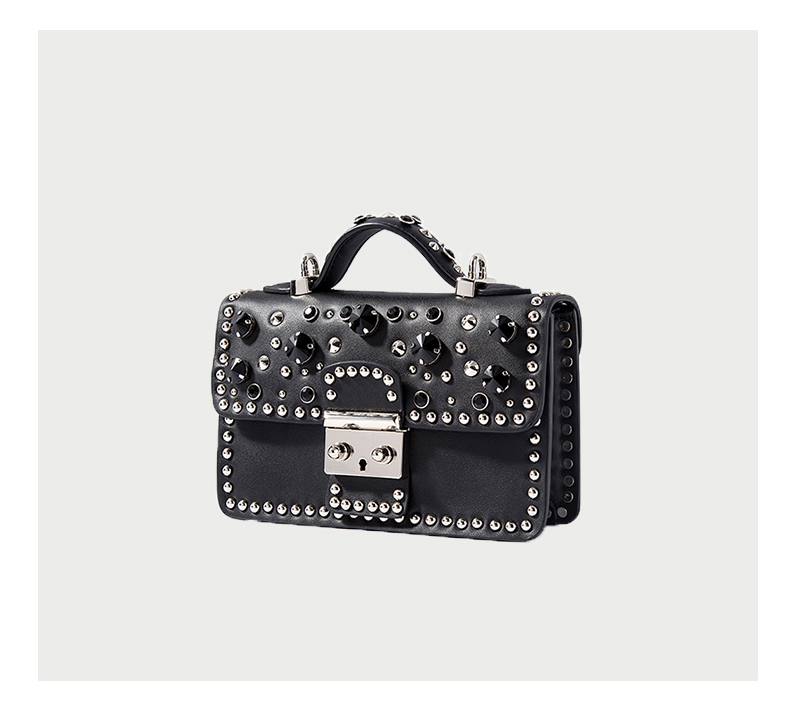 Fashion Women Messenger Bag New Brand Genuine Leather Female Shoulder Bag Luxury Diamond Woman Handbags Strap Bags White (1)