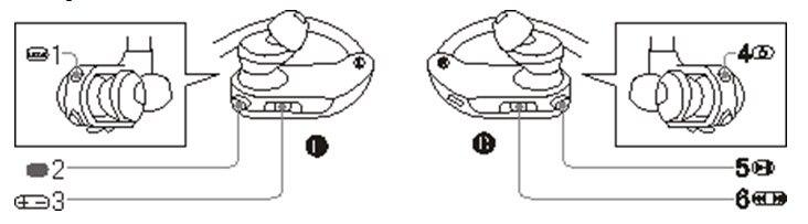 1 Headphones IP68 100% Waterproof MP3 Swimming earphones Headset earbuds MP3 Player Music player speaker