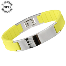 Noproblem P071 anion strength Bio magnetic health tourmaline jewelry far infrared antifatigue choker scalar energy bracelets