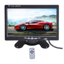 7 Inches Wireless Vehicle Image System Play Monitor Liquid Crystal Display Screen Car Reversing Rearview Camera Video Players