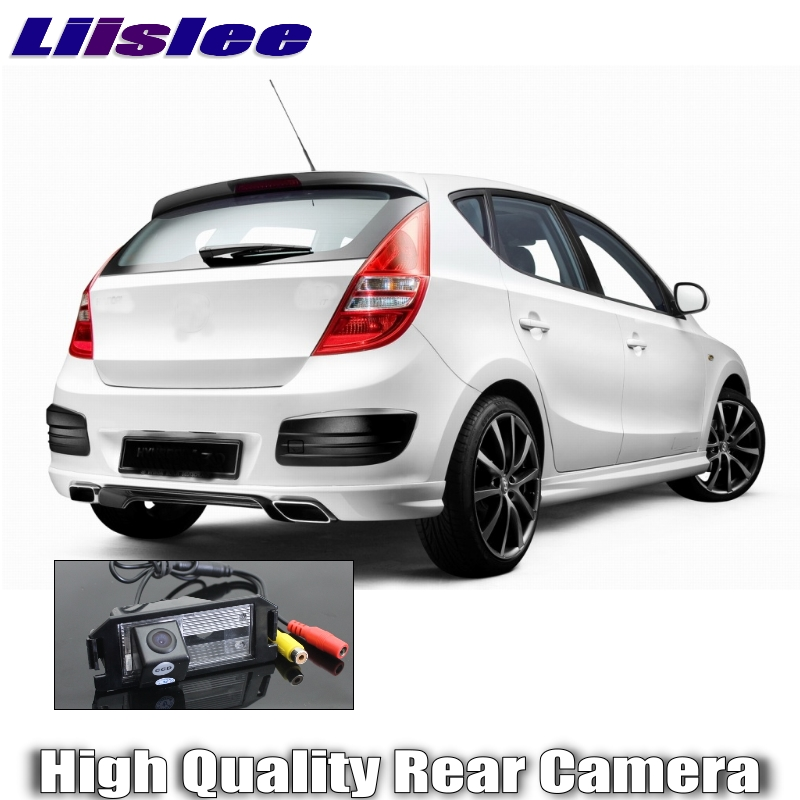 Liislee Car Camera For Hyundai i30  Elantra Touring GT 2007~2012 High Quality Rear View Back Up Camera For Fans Use  RCA