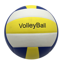 JUNRUI Unisex Official Weight and Size 5 PU Volleyball Indoor & Outdoor Training ball Match volleyball free gifts net &gas Pins(China)