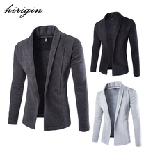 hirigin 2017 Newest Arrivals Fashion Men Winter Sweater Cardigan Knit Knitwear Coat Jacket Jumper Sweatshirt Men Casual Jackets(China)