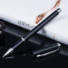 Metal Ballpoint Pen company logo gift ideas laser  metal pens  Office Writing pen free shipping 6856