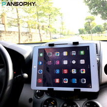 "Universal 7 8 9 10"" Tablet Car holder Stand Auto CD Mount Tablet Holder Car Stand for iPad mini 2 3 4 Air 2 Pro 9.7 Huawei LG(China)"