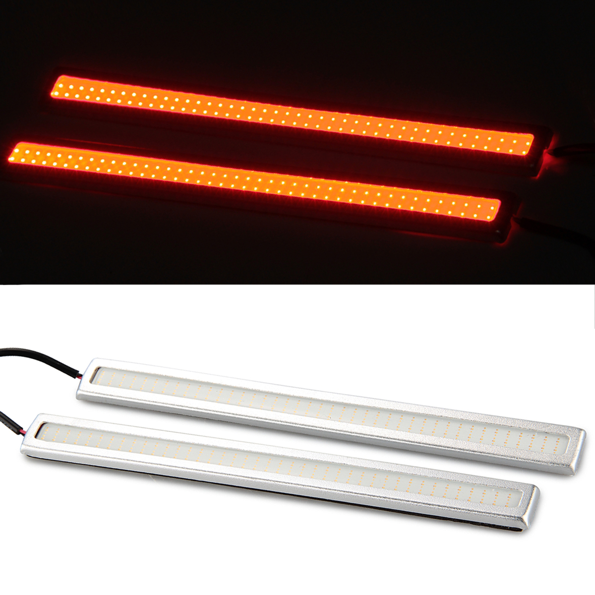 2 x 6W COB Car Red LED Daytime Running Light DRL Fog Truck Driving Lamp(China (Mainland))