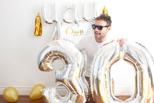 1PC Large 40 inch Gold Number Balloon Big Aluminum Foil Giant Balloons Birthday Wedding Party Ballon Decora Celebration Supplies