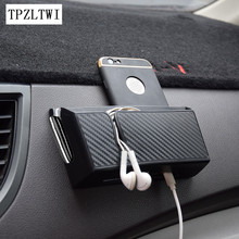 TPZLTWI Car Mobile Phone Holder Bag For VW Polo 9n Beetle Golf 4 5 7 6 Passat B5 B6 B7 T5 Touran T4 Bora Caddy Tiguan Sharan 3(China)